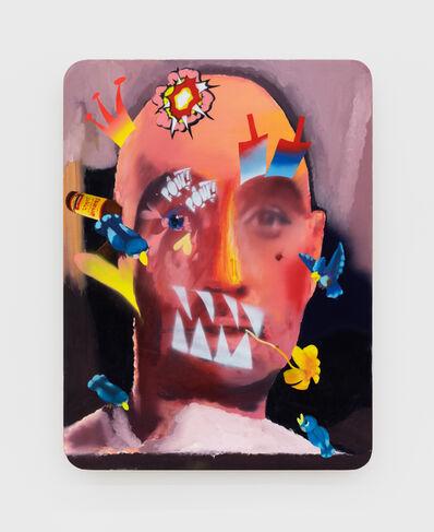 Alessandro Pessoli, 'King Faki', 2020