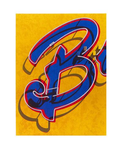 Robert Cottingham, 'An American Alphabet: B', 2008