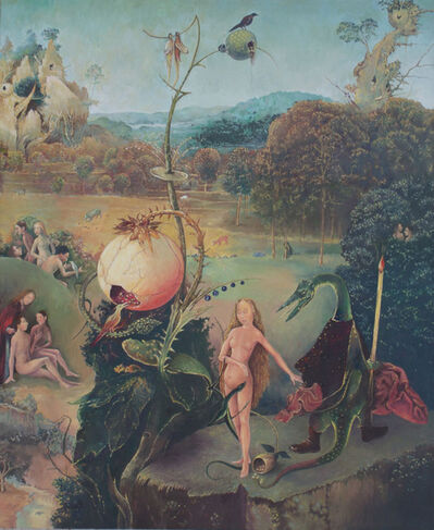 Malcolm Bucknall, 'In the Garden of Hieronymus Bosch', 2021