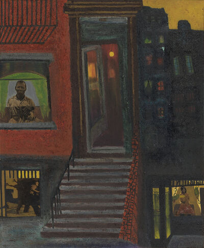 Vincent Smith, 'Untitled (Brownstone Stairs).', 1968
