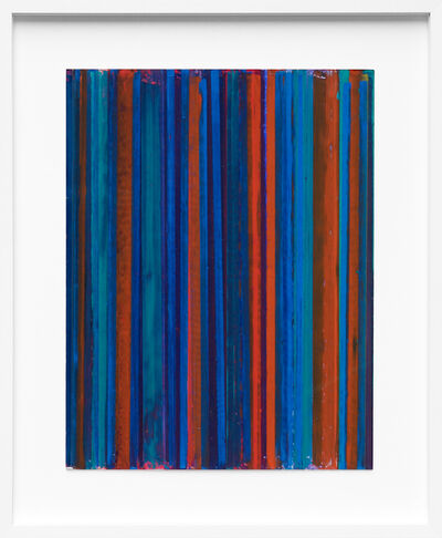 Vicky Christou, 'Colour Study Blue Over Orange', 2015