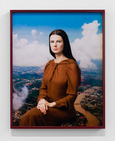 Gillian Wearing, 'Me as Mona Lisa', 2020