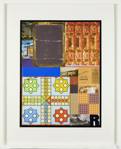 Peter Blake, 'Homage to Rauschenberg I', 2011