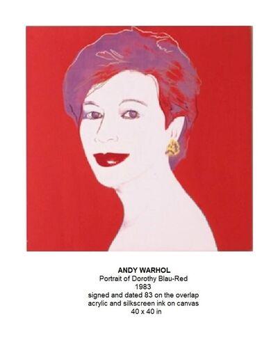 Pierre-Auguste Renoir, 'Portrait of Dorothy Blau-Red ', 1983