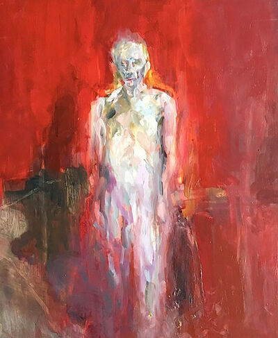 Edwige Fouvry, 'Homme rouge debout', 2019