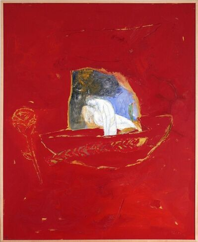 Raúl Díaz, 'Sobre Fondo Rojo', 2003