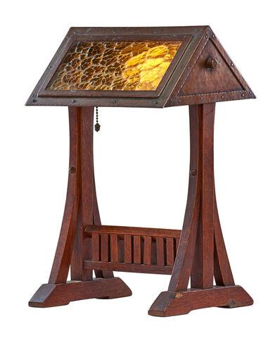Gustav Stickley, 'Rare adjustable table lamp (no. 506), Eastwood, NY', ca. 1906