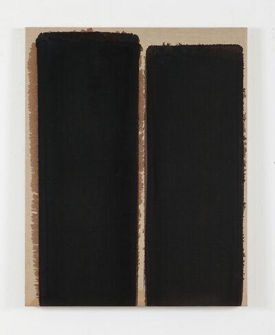 Yun Hyong-keun, 'Burnt umber & Ultra marine', 1993
