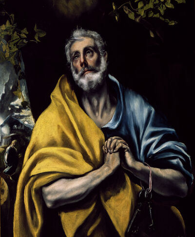 El Greco, 'The Tears of Saint Peter'