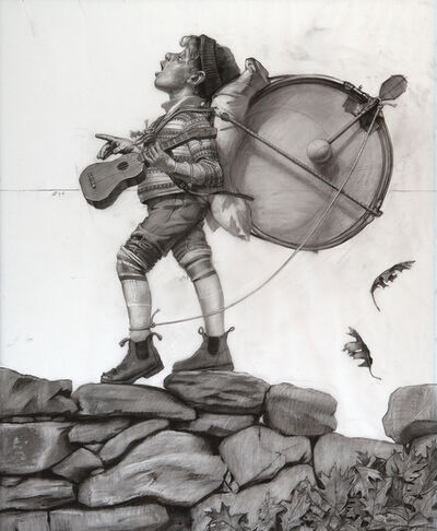 Shawn Fields, 'One Man Band (study)', not dated