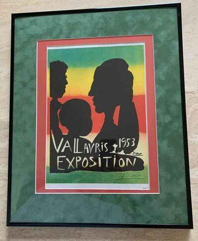 Pablo Picasso, 'Vallaurus Exposition 1953 Poster', 1953
