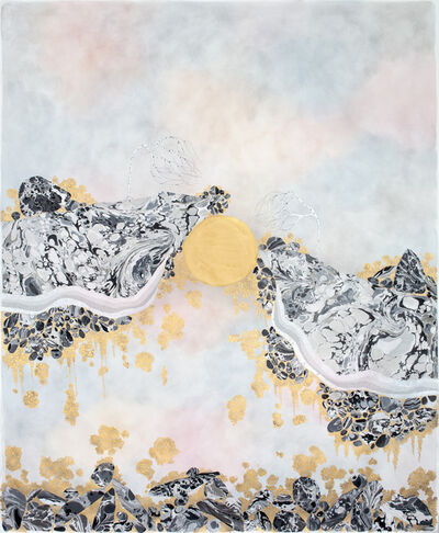 """Crystal Liu, 'the mountains, """"the partition II""""', 2017"""