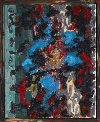 Markus Lüpertz, 'Zyklus Marees-Rote allee', 2002