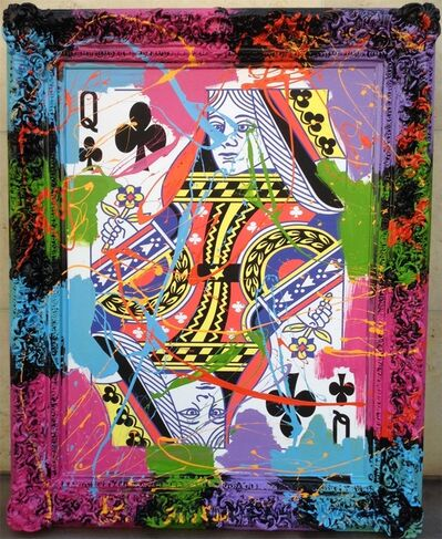 Elena Bulatova, 'Queen of Clubs', 2019
