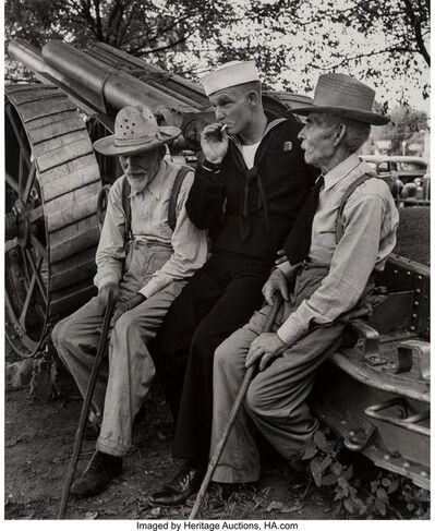 Alfred Eisenstaedt, 'Sailor on Furlough, Oklahoma', 1943-printed in 1992 by the Time Life Photo Lab