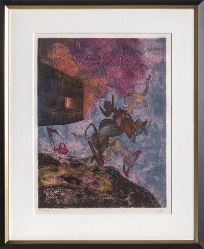 Roberto Matta, 'Ancien Victorieux Je te morphose from Hom'mere', 1974