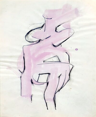 Melville Price, 'Untitled Pink Figure', 1952-1958
