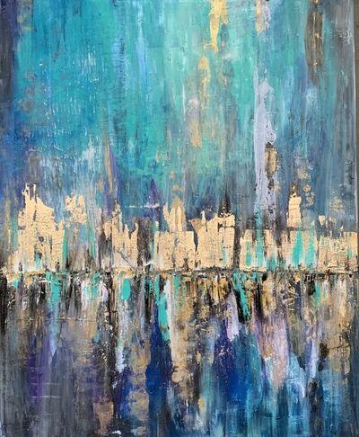 Olya Jonas (Olyana), 'Reflection (New york abstract ) ', 2020