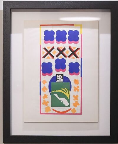 Henri Matisse, 'Poissons Chinois (Chinese Fish)', 1958