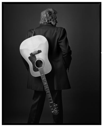 Mark Seliger, 'Johnny Cash back ', 1992