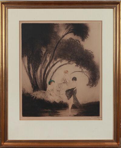 """Louis Icart, '""""Badende""""', 1926"""