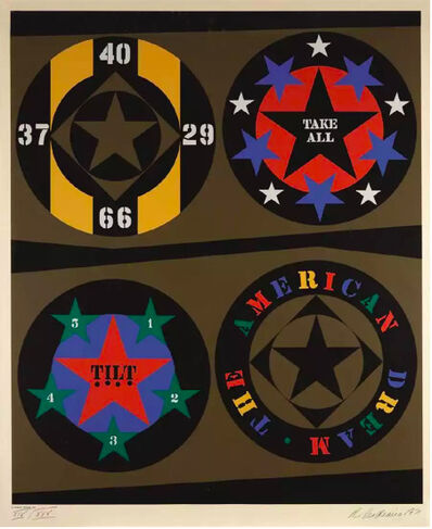 Robert Indiana, 'Decade IV', 1971