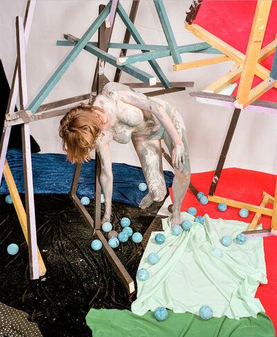 Nico Krijno, 'Sculpture Figure Study, Mignonne', 2016