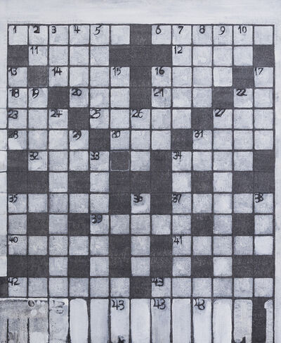 Richard Artschwager, 'Crossword Puzzle', 1967