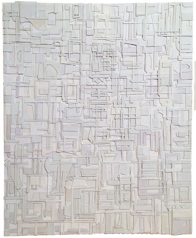 Matt Gonzalez, 'Derivations in White', 2015