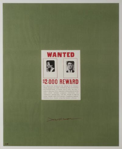 Ai Weiwei, 'WANTED', 2014