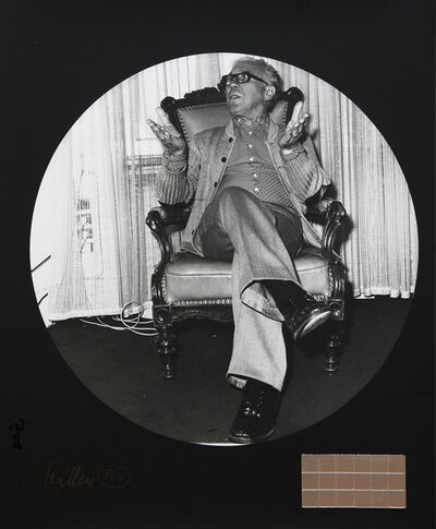 Adolf Luther, 'Portrait Adolf Luther (Photo from Zoa)', 1981
