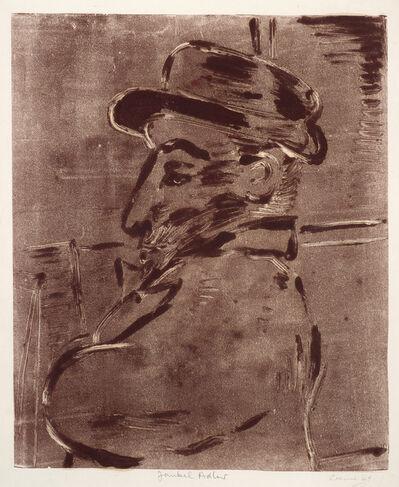 Benjamin Creme, 'Jankel Adler (from memory)', 1949
