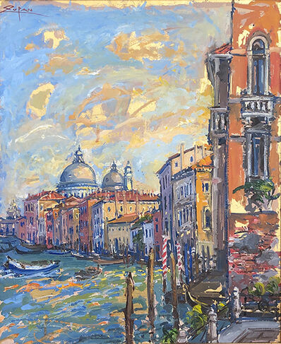 Bruno Zupan, 'Towers of Santa Maria Della Salute', 2019