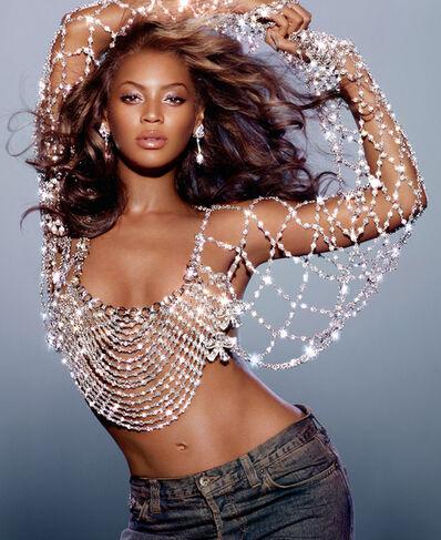 Markus Klinko, 'Beyonce, Dangerously In Love Album Cover', 2003