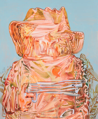 James Esber, 'Untitled (Pink Cowboy)', 2015