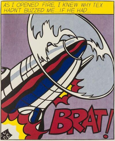 Roy Lichtenstein, 'As I opened Fire (Corlett App.5)', 1966