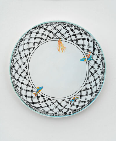 Karen Kilimnik, 'Villeroy & Boch, 1748, Audun, Miami of the Ocean Sea China ', 2018