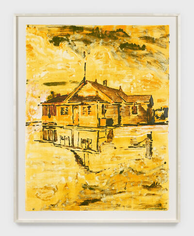 Claire Tabouret, 'Flooded House (pale)', 2019