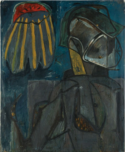 Markus Lüpertz, 'Der Dandy', 1984