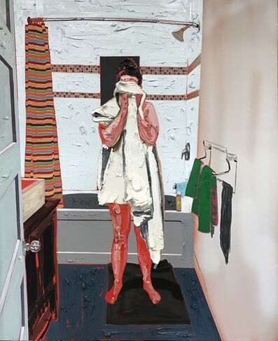 Kim Dorland, 'Towel', 2017