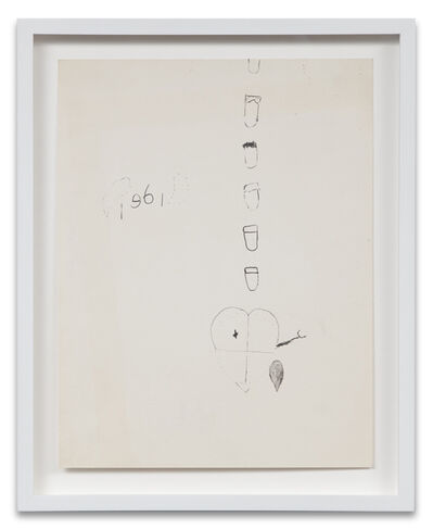Joe Goode, 'Bomb Drawing 3', 1961