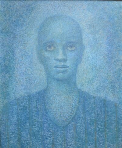 Julius Bloch, 'Lucky in Blue', 1955