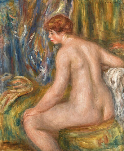 Pierre-Auguste Renoir, 'Seated bather ', 1915