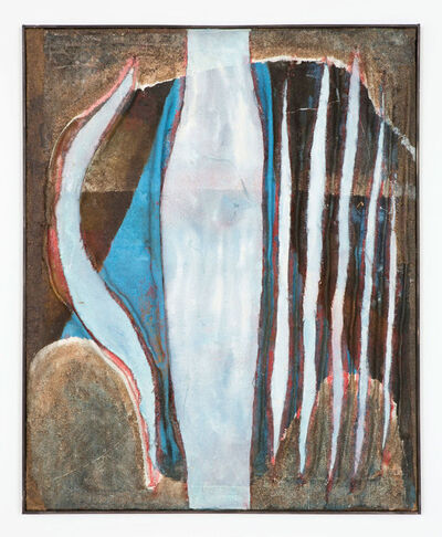 Tsuyoshi Maekawa, 'Mannaka Tate no Blue (A18)', 1964