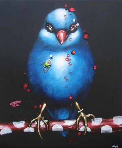 Quetzalcoatl, 'Bombón azul ', 2008