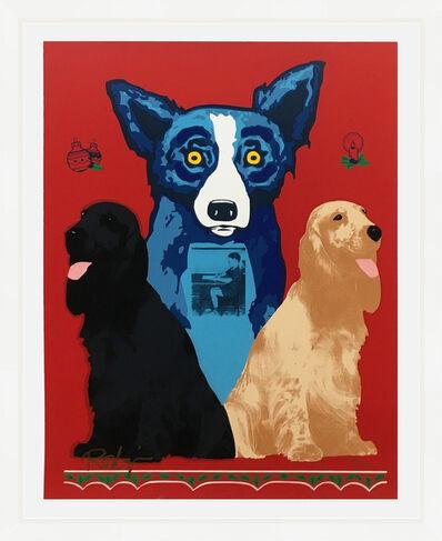 George Rodrigue, 'GEORGE'S SWEET INSPIRATIONS (BLUE DOG)', 2000