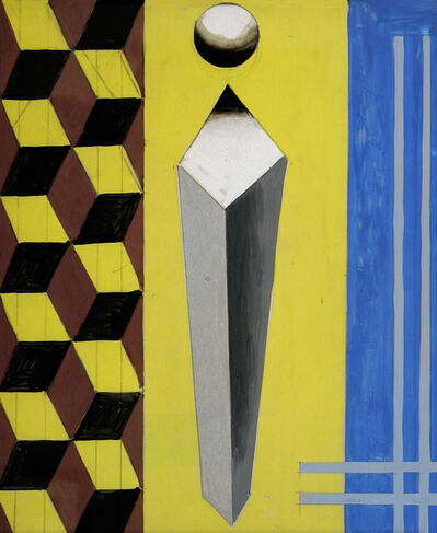 Charles Biederman, 'Cubist, Paris, January 1937', 1937
