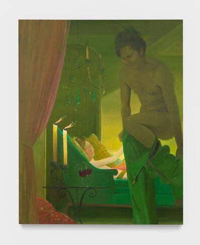 Lisa Yuskavage, 'Bedheads', 2018