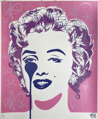 Pure Evil, 'Marilyn Classic Pink Galore ', 2021
