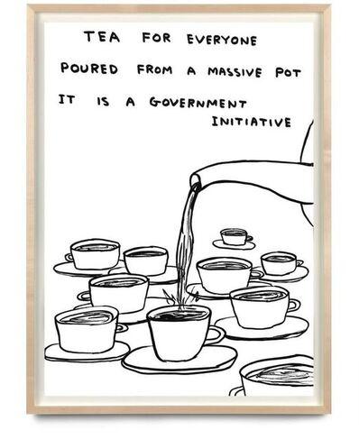 David Shrigley, 'Tea For Everyone', 2020